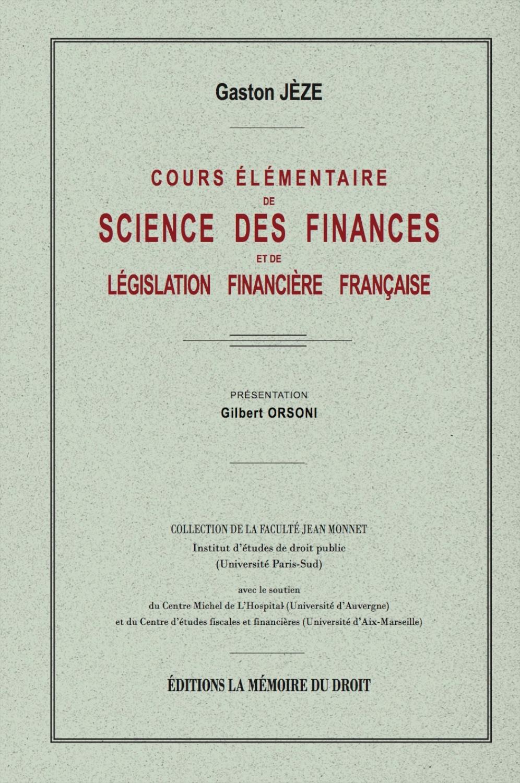 Science des finances