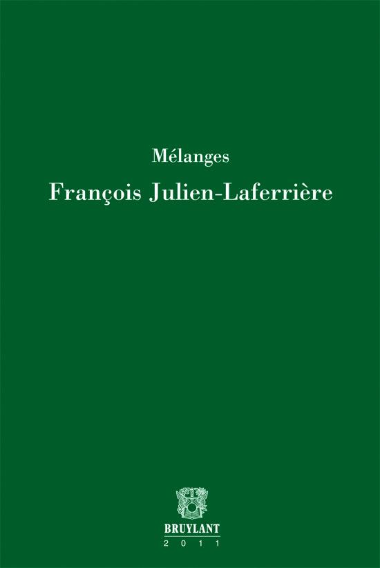 Mélanges François Julien-Laferrière